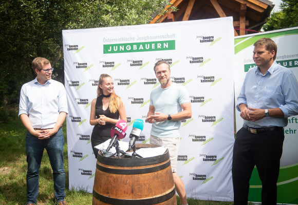 Presseshooting Jungbauernkalender 2020